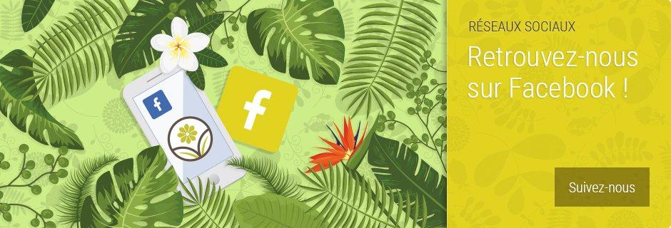 VV Plantes - Suivez nous sur Facebook